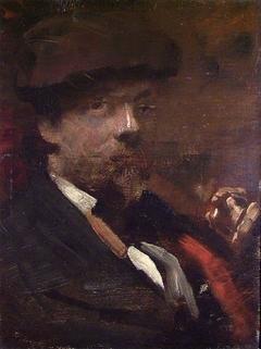 Portrait of the Danish Painter Frants Henningsen