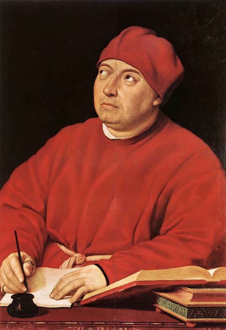 Portrait of Tommaso Inghirami