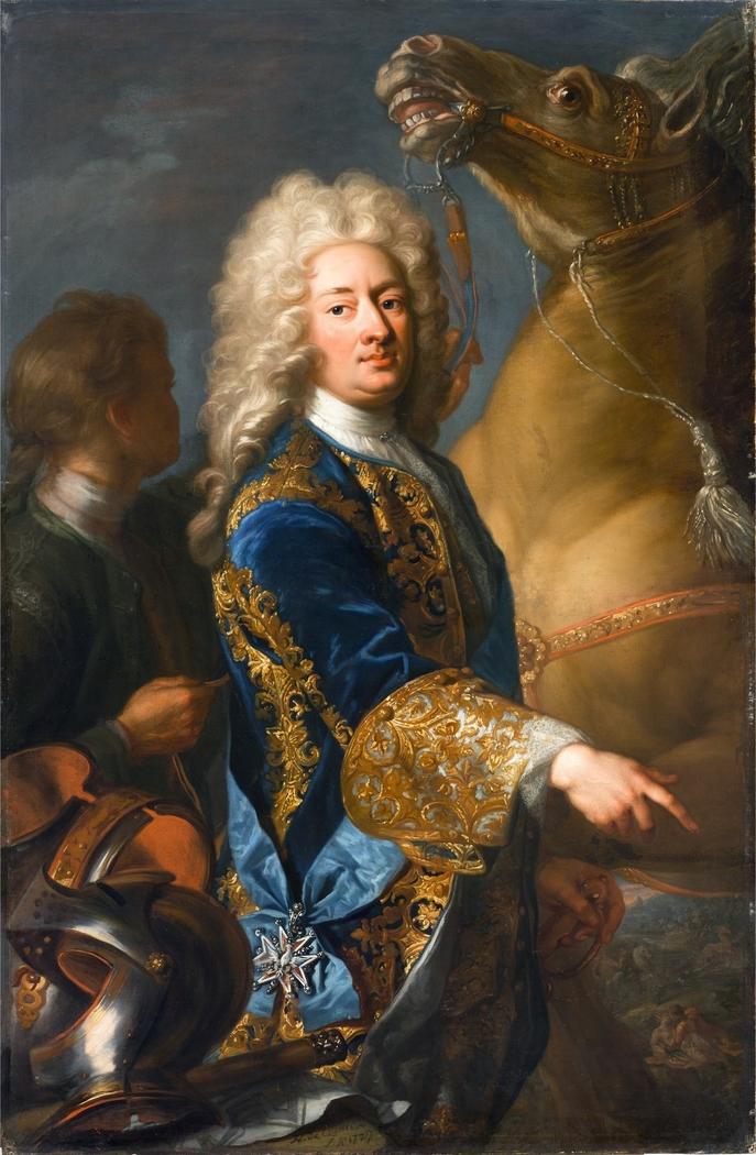 Portrait of Wilhelm VIII, Landgrave of Hesse-Kassel (1682-1760)