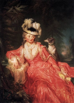 Portrait of Wilhelmine Encke, Countess Lichtenau