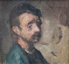 Portret van boer (Gust Caers)