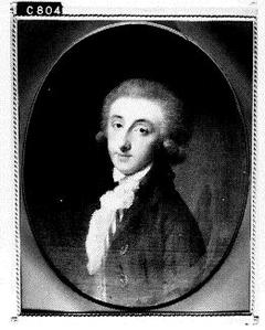 Portret van een man, mogelijk Floris Abraham Vaillant (1755-1819)