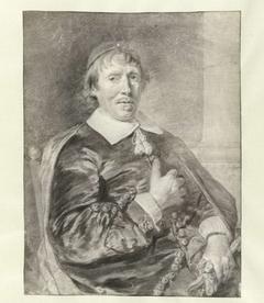 Portret van een predikant