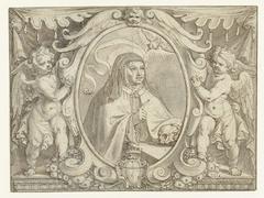 Portret van Teresa van Avila