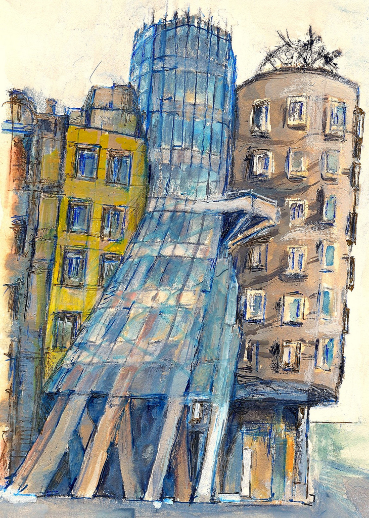 Prague (The Dancing House)