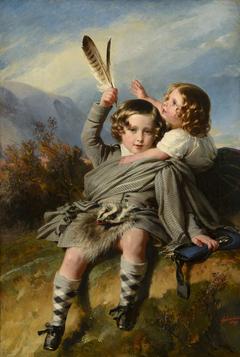 Prince Alfred and Princess Helena