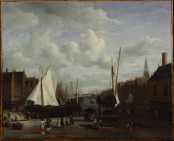 Quay at Amsterdam