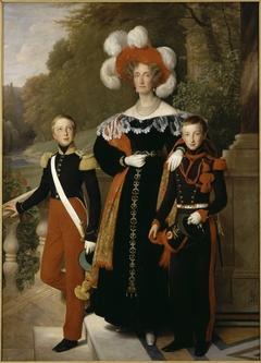 Queen Marie-Amélie with her Children