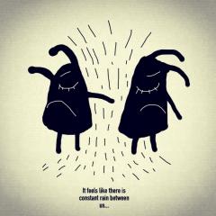 Rain of arguments