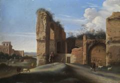 Römische Ruinenlandschaft