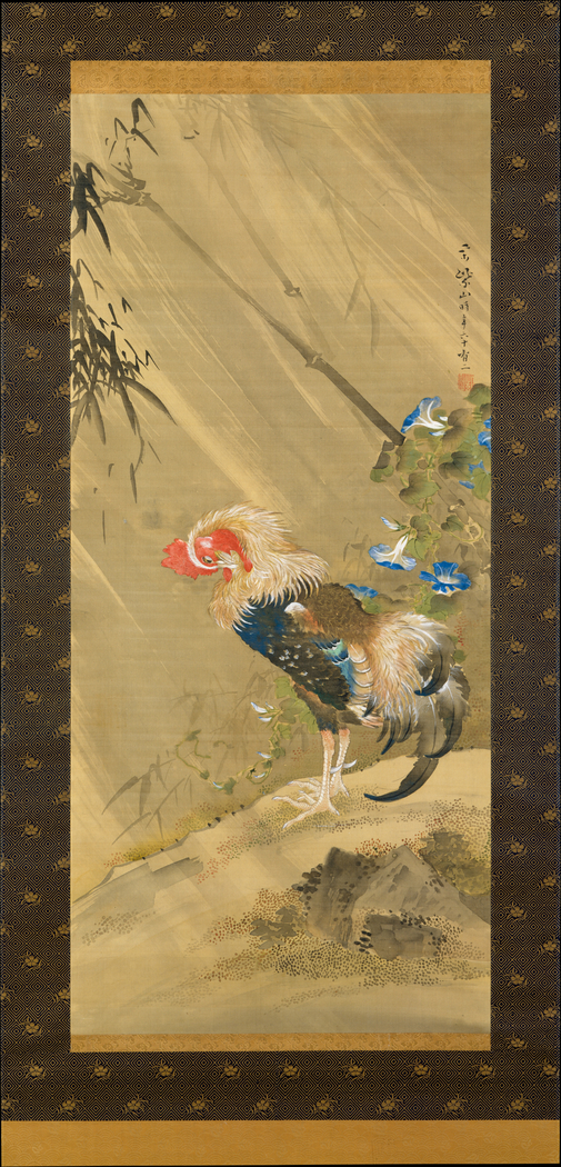 Rooster in a Storm