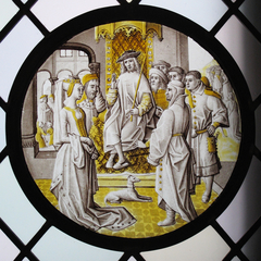 Roundel with Susanna In Judgement