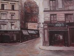 Rue de la Mt,St,Genevieve,Paris 1925