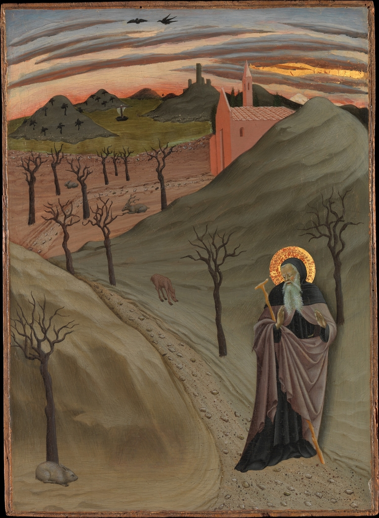 Saint Anthony Abbot Tempted by a Heap of Gold