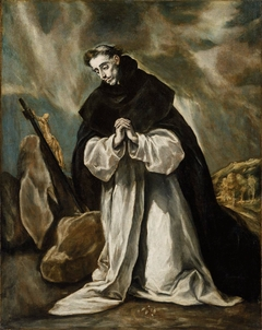 Saint Dominic in Prayer