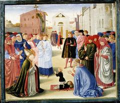 Saint Zenobius Resuscitating a Dead Child