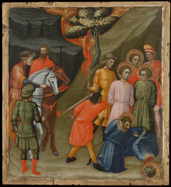 Scene from the Lives of Sts. Cosmas and Damian: Beheading