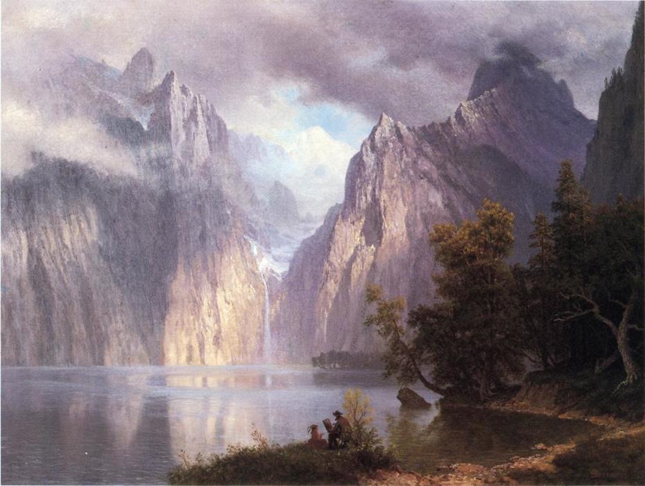 Scene in the Sierra Nevada