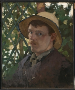 Self-Portrait at Montigny