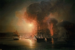 Shipment of Vice-Admiral Baudin to the Mexico in 1838. Bombing of Saint - John of Ulloa by French wing on November 27, 1828.