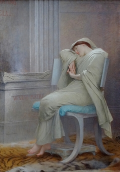 Sleeping Vestal