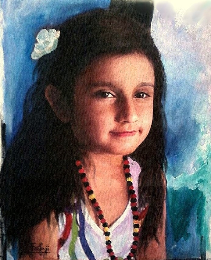 SMILE OF CHILD MONALISA