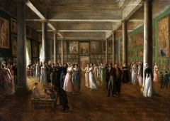 Solemn exhibition of paintings