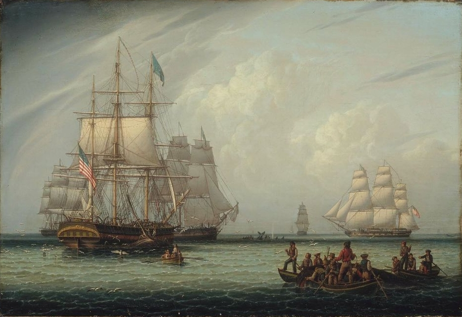 South Sea Whale Fishing I