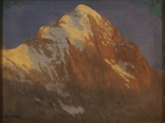 Spur of the Edge at Sunset, Grindelwald
