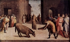 St. Anthony and the Miracle of the Mule