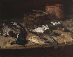Stilleben mit toten Enten