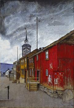 Street in Røros