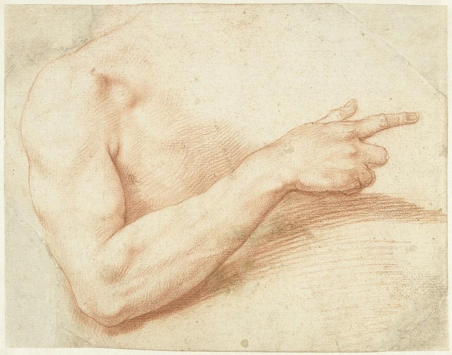 Studie van een arm