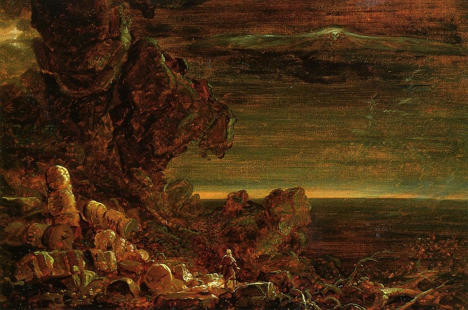 Study for The Pilgrim of the World at the End of His Journey