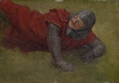 Study of a Wounded Soldier