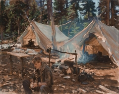 Tents at Lake O'Hara