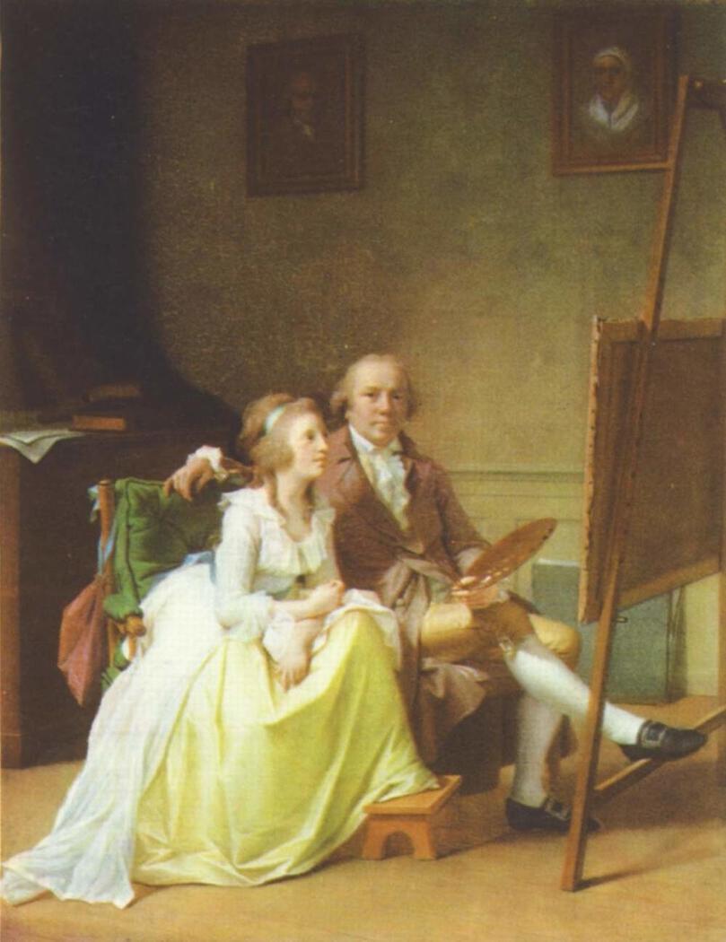 The Artist and his Wife Rosine, née Dørschel