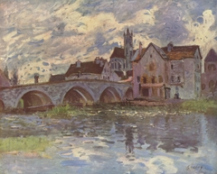 The Bridge in Moret-sur-Loing