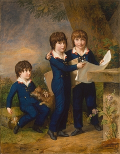 The Children of Martin Anton Heckscher: Johann Gustav Wilhelm Moritz (1797–1865), Carl Martin Adolph (1796–1850), and Leopold (born 1792)