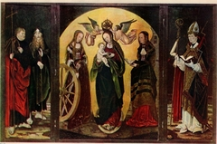 The Coronation of the Virgin with Saints