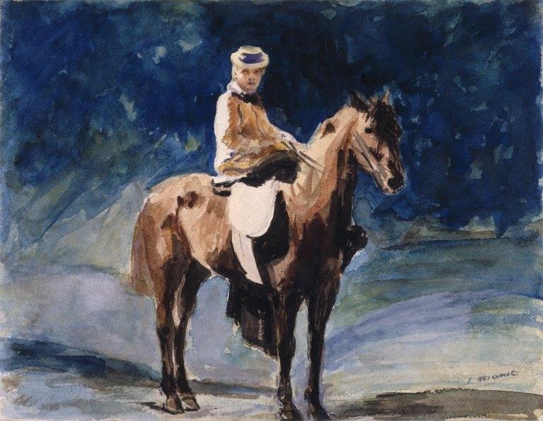 The Equestrienne (L'Amazone)