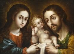 The Holy Family (La sagrada familia)