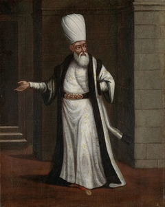 The Janissary Aga, Commander-in-Chief of the Janissaries