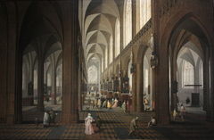 The nave of Antwerp Cathedral