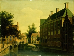 The Oude Zijds Herenlogement (Gentlemen's Hotel) in Amsterdam