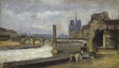 The Pont de la Tournelle, Paris
