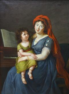 The portrait of princess Ekaterina Nikolaevna Menshikova
