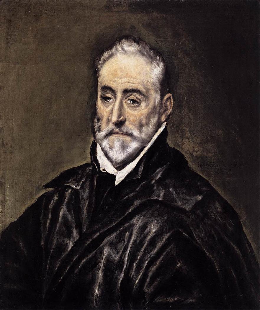 Portrait of Antonio de Covarrubias y Leiva (1514-1602), Spanish jurist and humanist
