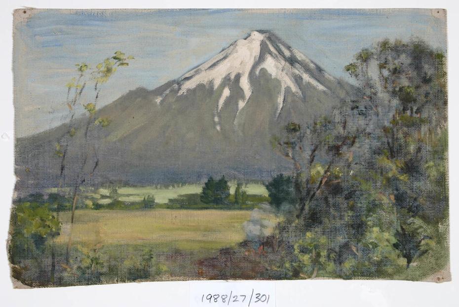 Untitled (Mountain scene)