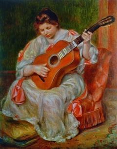 Joueuse de guitare